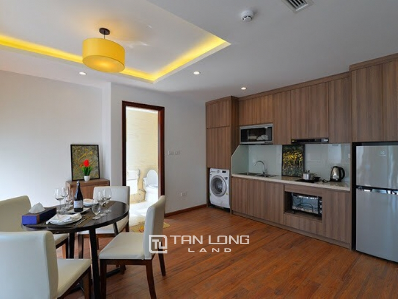 Bright new apartment for rent in Road surface Quang Khanh street, Tay ho district 5