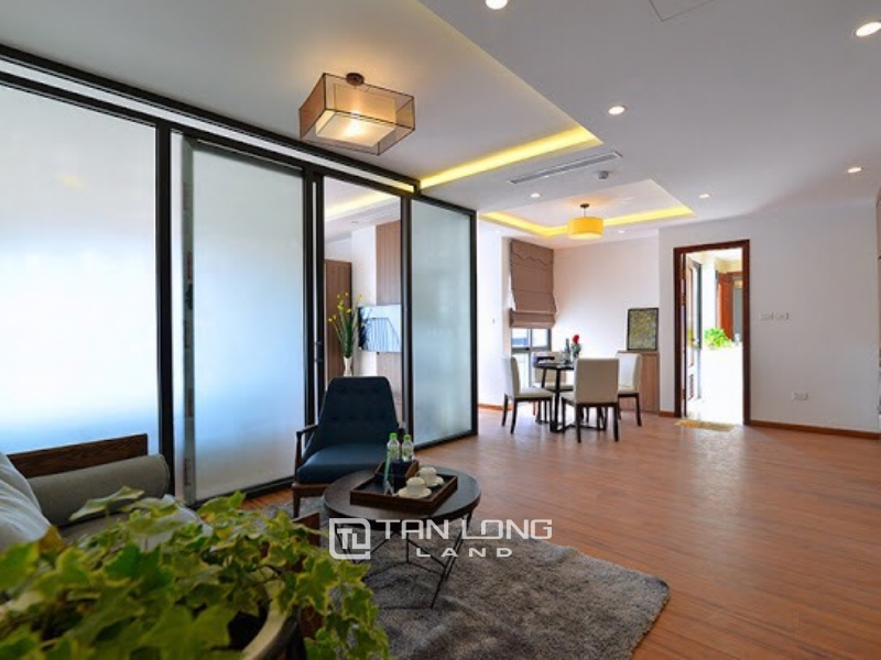 Bright new apartment for rent in Road surface Quang Khanh street, Tay ho district 8