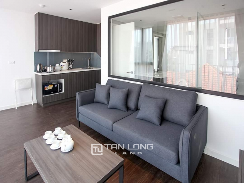 Bright new apartment for rent in Tay ho street, Tay ho district 3