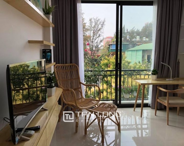 Bright Studio for rent on Hoang Quoc Viet 1