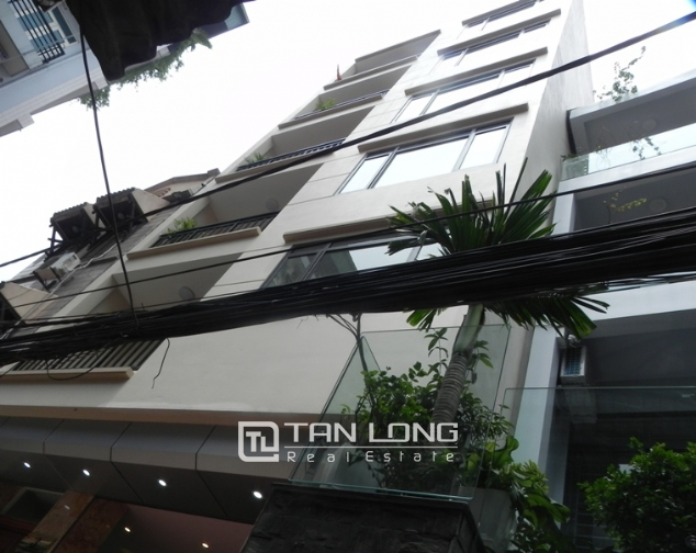 Bright studio serviced apartment in Pham Ngoc Thach, Dong Da for lease 1