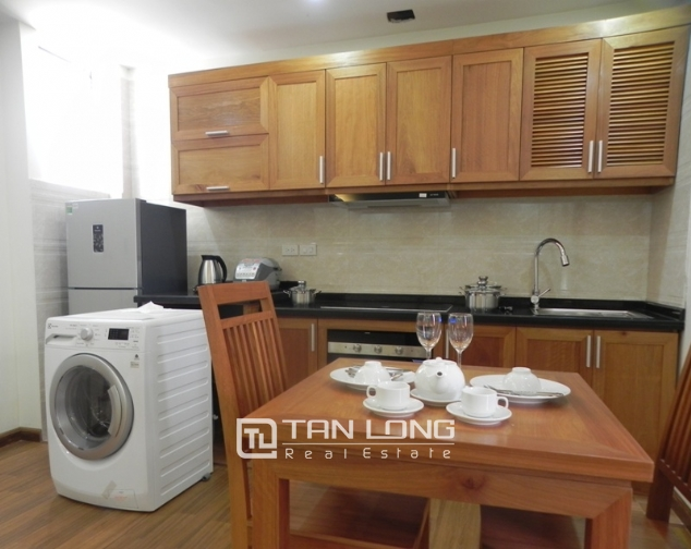 Bright studio serviced apartment in Pham Ngoc Thach, Dong Da for lease 8