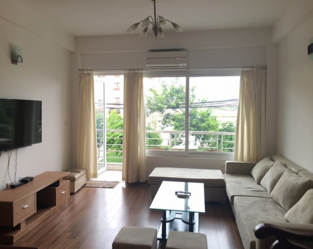 Brilliant 1 bedroom apartment in Tu Hoa, Tay Ho district for lease, modern furniture 1