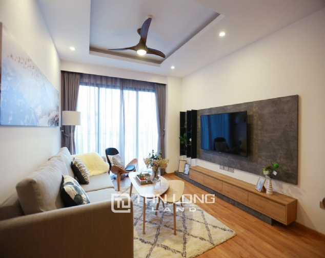 Brilliant 2 bedroom apartment for rent on Pham Huy Thong street, Ba Dinh 2