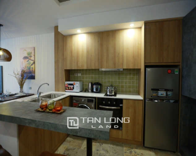 Brilliant 2 bedroom apartment for rent on Pham Huy Thong street, Ba Dinh 3