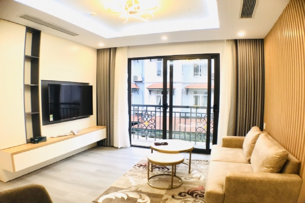 Service apartment for rent in To Ngoc Van street, Tay Ho district