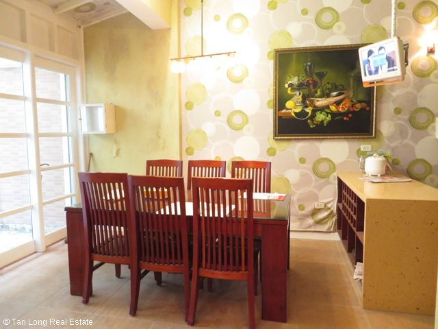 Charming 3 storey villa for rent in G6 Ciputra, 4 bedroom, surrounding garden 4