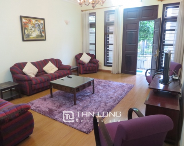 Charming 4 bedroom villa with yard for rent in D4 Ciputra, Bac Tu Liem dist, Hanoi 2