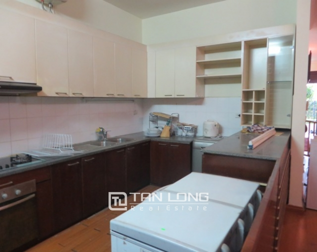 Charming 4 bedroom villa with yard for rent in D4 Ciputra, Bac Tu Liem dist, Hanoi 3