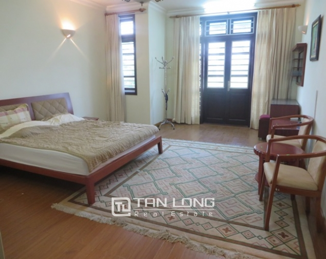 Charming 4 bedroom villa with yard for rent in D4 Ciputra, Bac Tu Liem dist, Hanoi 10