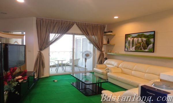 Charming furnished apartment for rent in Golden Westlake Hanoi