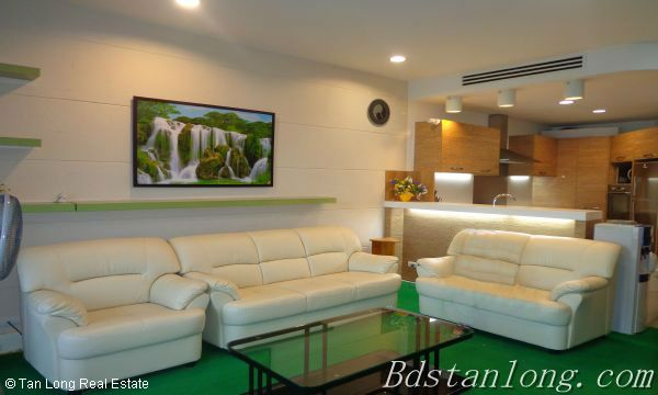 Charming furnished apartment for rent in Golden Westlake Hanoi 3