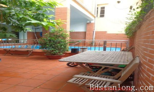 Charming house with swimming pool rental in Tay Ho Hanoi 1