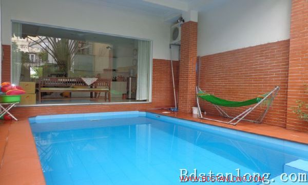 Charming house with swimming pool rental in Tay Ho Hanoi 2