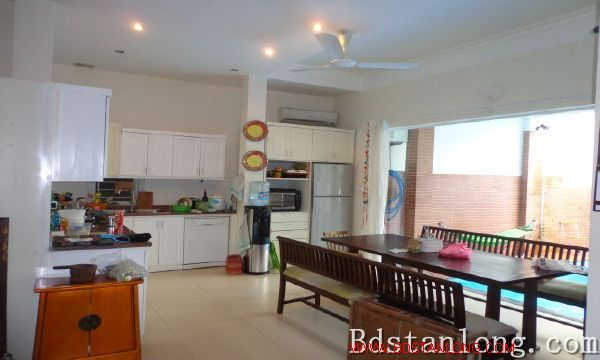Charming house with swimming pool rental in Tay Ho Hanoi 4