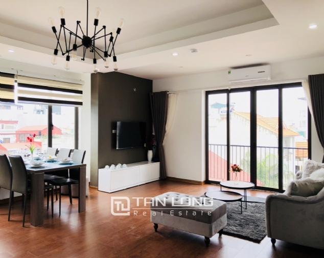 Charming serviced apartment for rent in Xuan Dieu street! 1