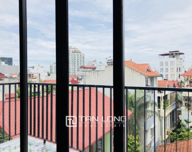 Charming serviced apartment for rent in Xuan Dieu street! 3