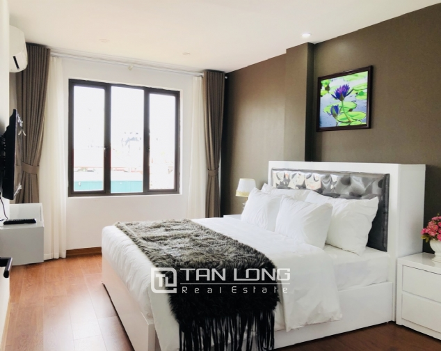 Charming serviced apartment for rent in Xuan Dieu street! 9