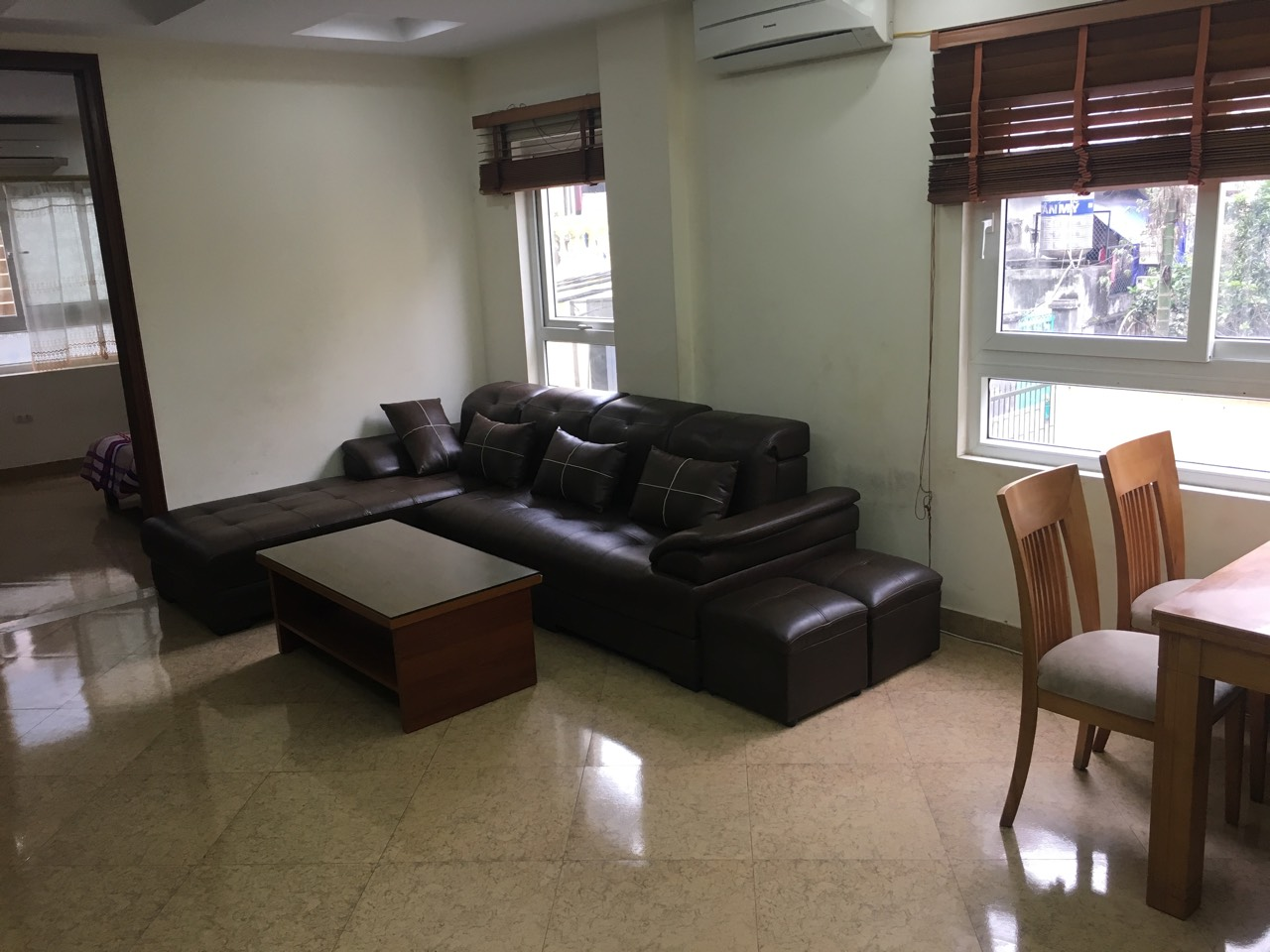 Cheap 2-bedroom apartment for rent on Trinh Cong Son ...