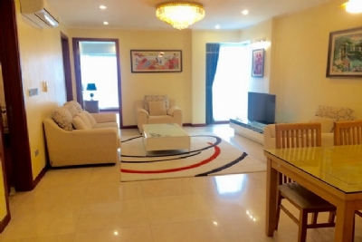 Cheap and  Fully equipped 3 bedroom apartment for rent in L1 tower Ciputra urban area Tay Ho dist