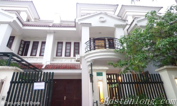 Cheap and nice villa rental in C1 Ciputra Hanoi 1
