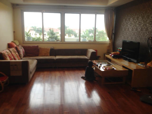Cozy 3 bedroom apartment in E5 Ciputra Hanoi for sale