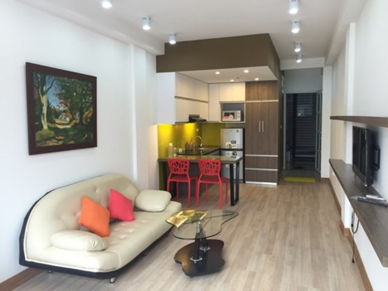 Cozy studio apartment for rent in Doi Can, Ba Dinh, Hanoi