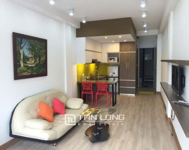 Cozy studio apartment for rent in Doi Can, Ba Dinh, Hanoi 2