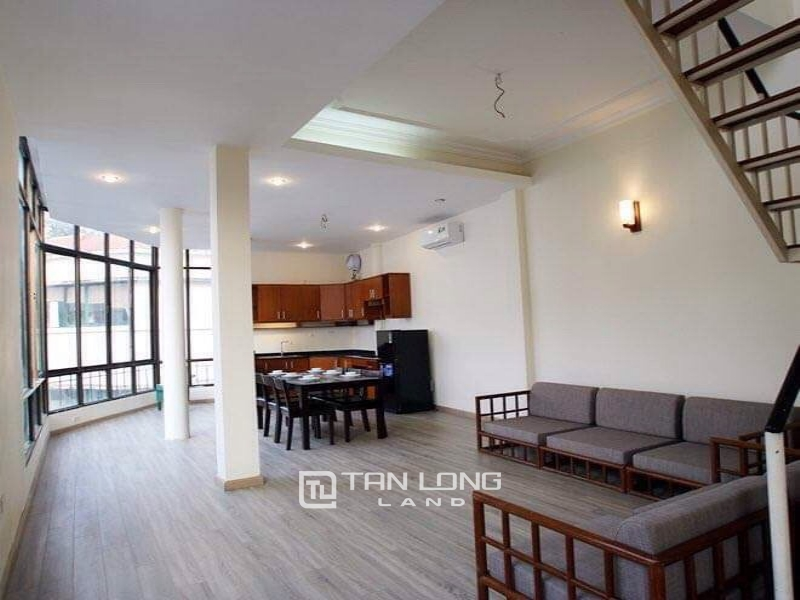 Duplex 2 bedroom apartment for rent on Nam Trang street, Ba Dinh 4