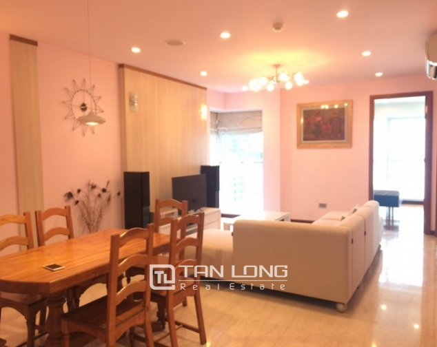 Fantastically modern and nice 3 bedroom apartment for rent in L2 building Ciputra Tay Ho district 1
