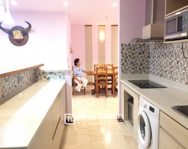 Fantastically modern and nice 3 bedroom apartment for rent in L2 building Ciputra Tay Ho district 4