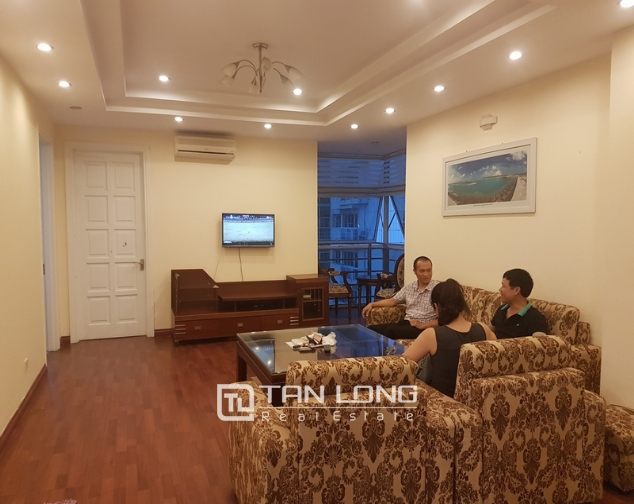 Full furnishing apartment in Ciputra urban area, Nguyen Hoang Ton Street, Tay Ho Hanoi for rent 2