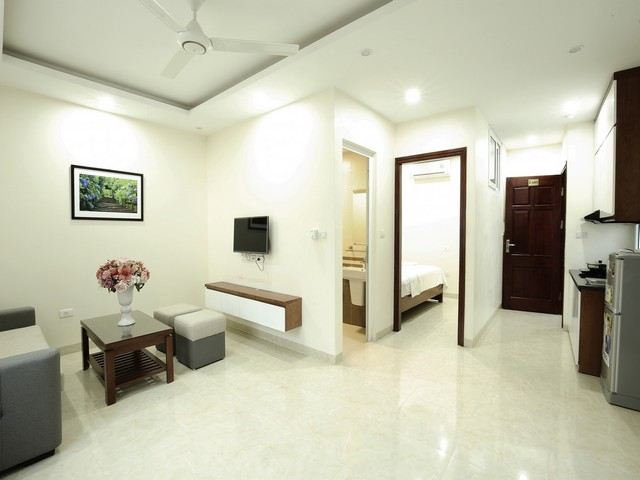 Full furnishing serviced apartments in Dinh Thon, Tran Van Lai street, Nam Tu Liem dist for lease