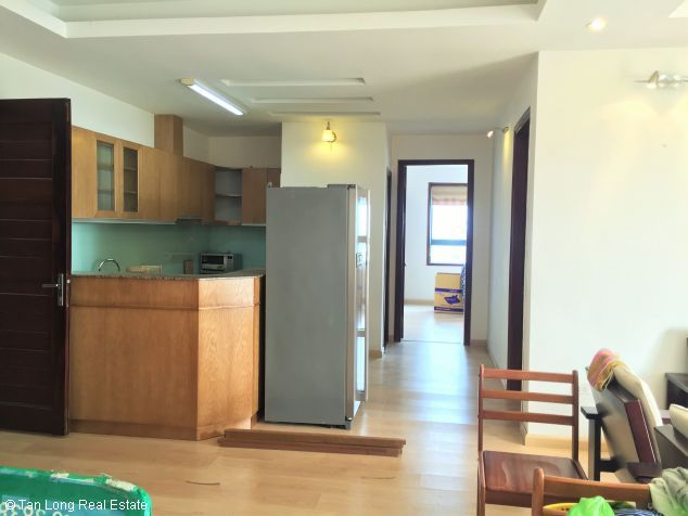Fully equipped 3 bedroom apartment for rent in Veam building, Tay Ho dist, Hanoi 2