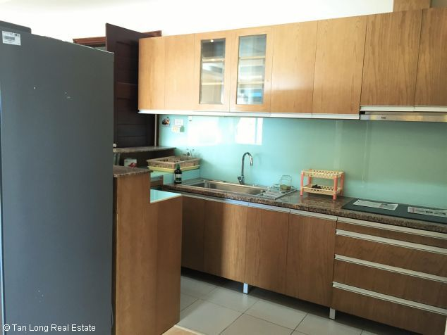 Fully equipped 3 bedroom apartment for rent in Veam building, Tay Ho dist, Hanoi 4