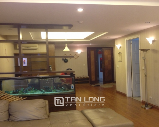 Fully furnished 3 bedroom apartment in E5 Ciputra to sell 4