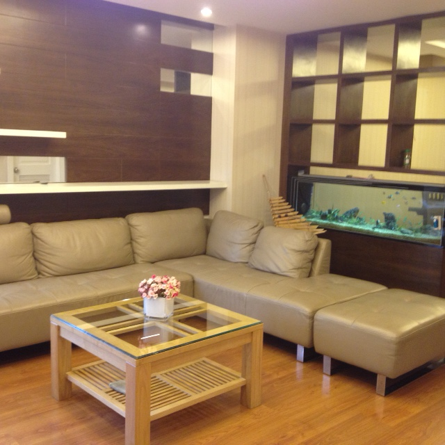 Fully furnished 3 bedroom apartment in E5 Ciputra to sell