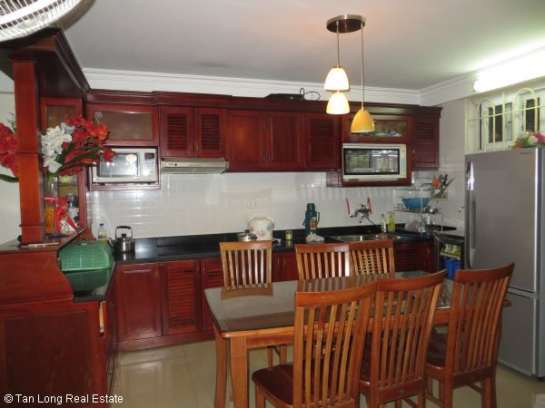 Fully furnished 4 bedroom house for rent in Nguyen Phong Sac street, Cau Giay 4