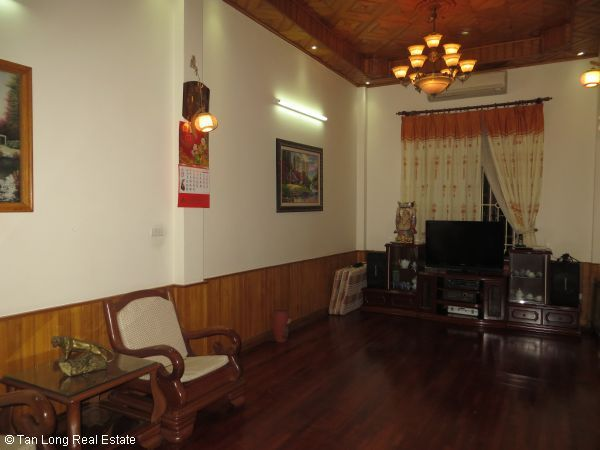 Fully furnished 4 bedroom house for rent in Nguyen Phong Sac street, Cau Giay 7