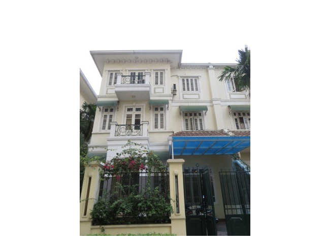 Fully furnished 4 bedroom villa for rent in T7 Ciputra, Bac Tu Liem district, Hanoi