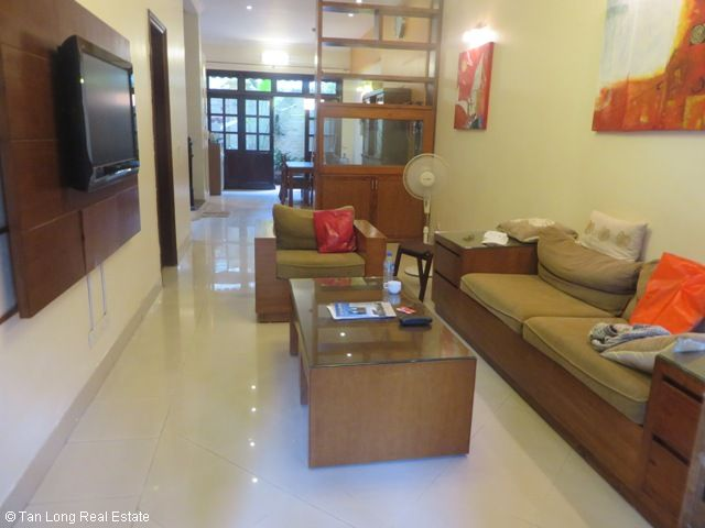 Fully furnished 4 bedroom villa for sale in C4 Ciputra, Tay Ho dist, Hanoi 2