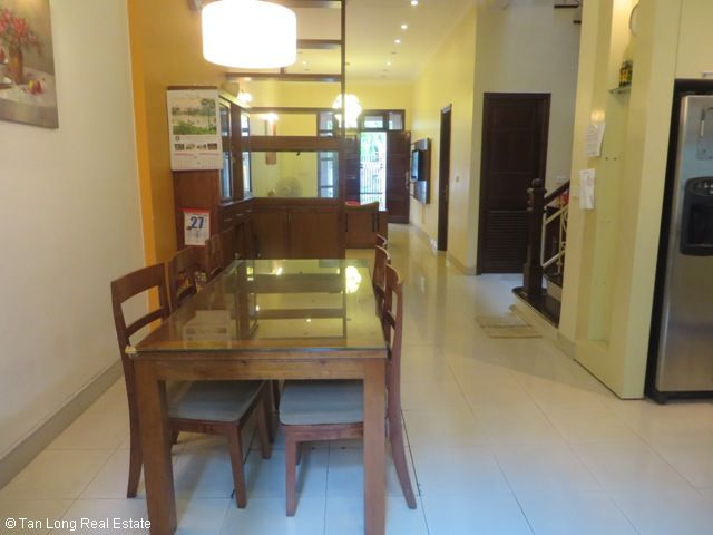 Fully furnished 4 bedroom villa for sale in C4 Ciputra, Tay Ho dist, Hanoi 5