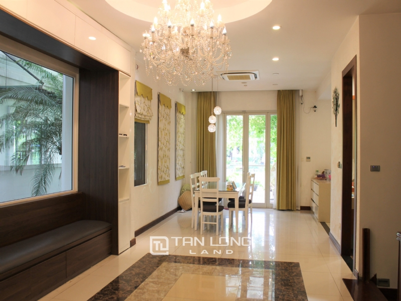 Fully Furnished 4 Bedrooms Semi- Detached Villa At Vinhomes Riverside To Lease, Next To BIS 18