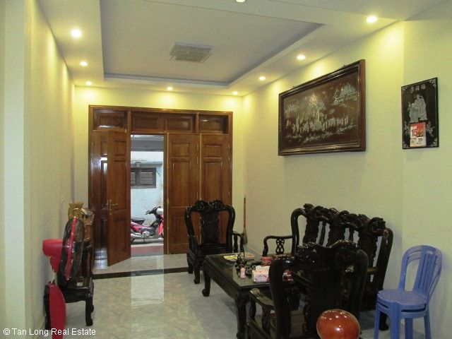 Fully furnished 5 bedroom house for rent on Trung Kinh street, Cau Giay district 4