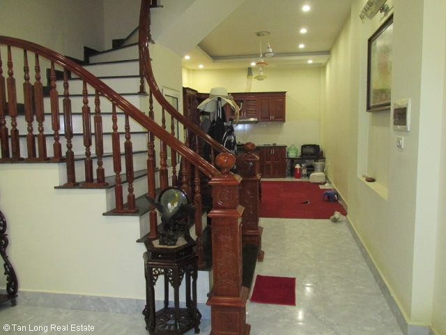 Fully furnished 5 bedroom house for rent on Trung Kinh street, Cau Giay district 6