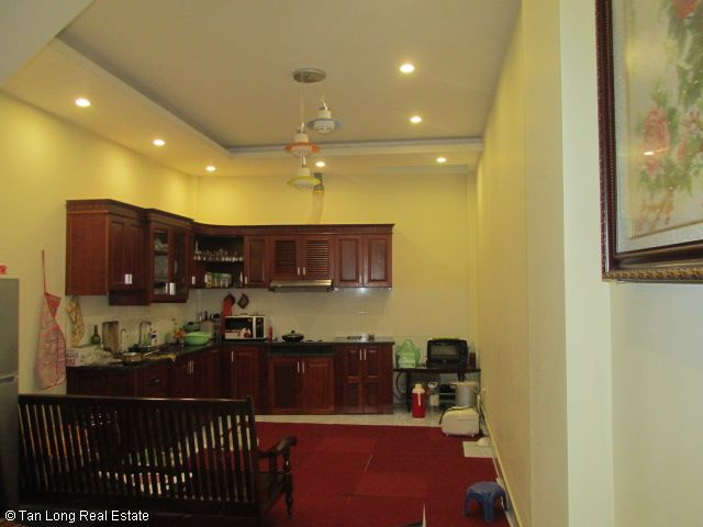 Fully furnished 5 bedroom house for rent on Trung Kinh street, Cau Giay district 7