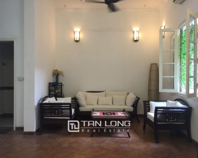 Fully furnished house for rent in Nghi Tam st, Tay Ho dist, Hanoi 5