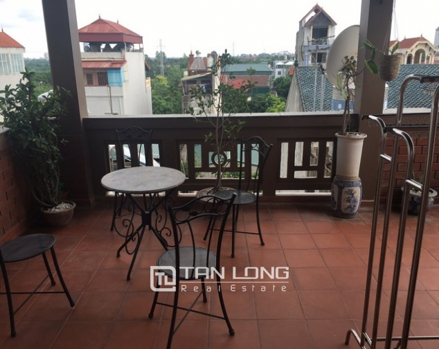 Fully furnished house for rent in Nghi Tam st, Tay Ho dist, Hanoi 7