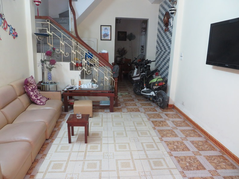 Fully furnished house for rent in Thai Ha street, Dong Da District