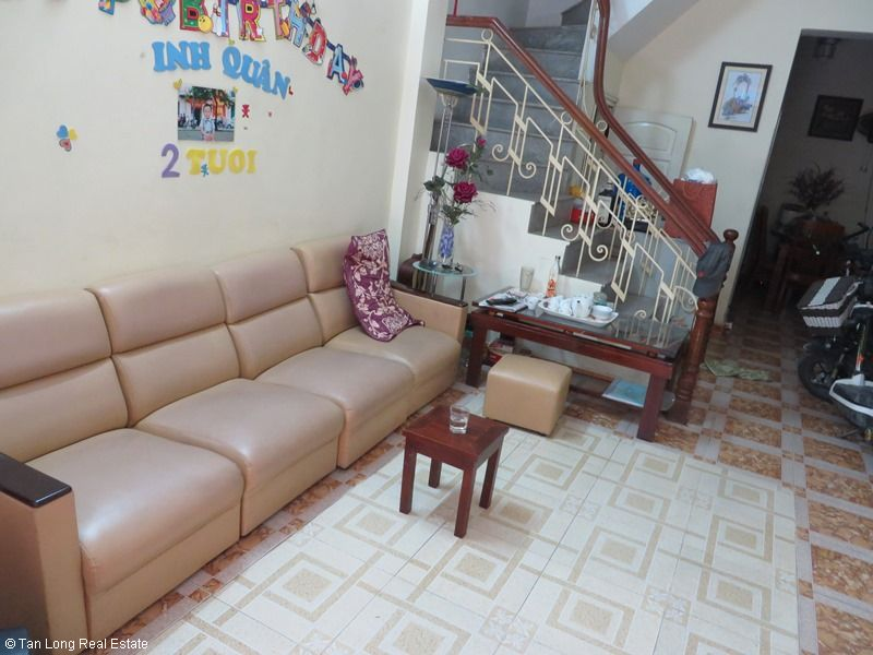 Fully furnished house for rent in Thai Ha street, Dong Da District 2